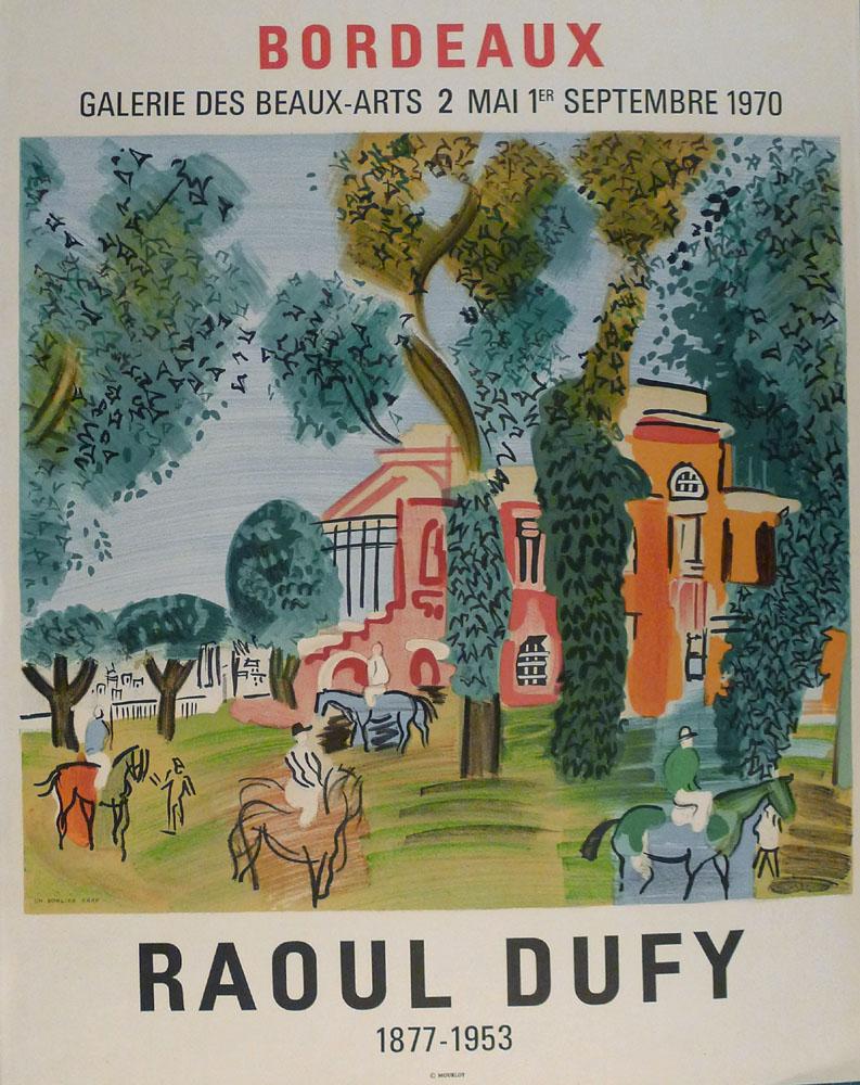 Lien vers la documentation de l'exposition Dufy,  1970