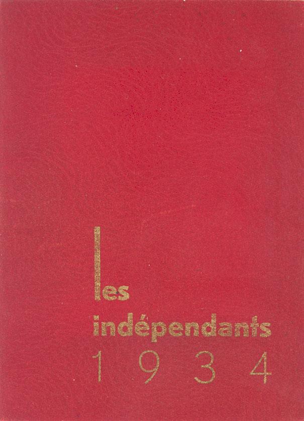 Lien vers le catalogue du salon des Artistes Indépendants Bordelais, 1934