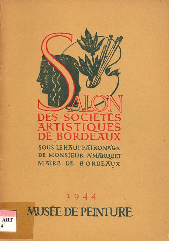 Lien vers le catalogue du salon des Artistes Indépendants Bordelais 1944