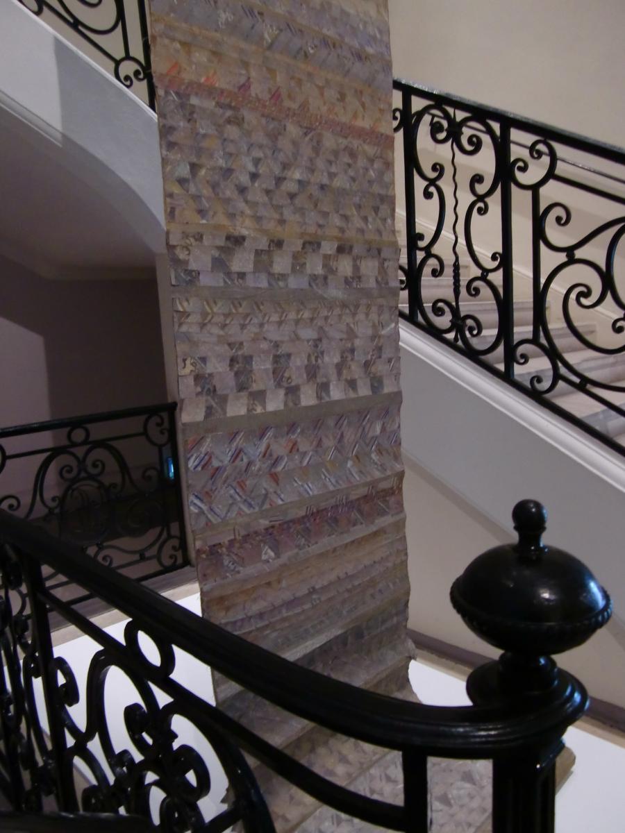 Escalier d e la Galerie © Musée des Beaux-Arts-mairie de Bordeaux.