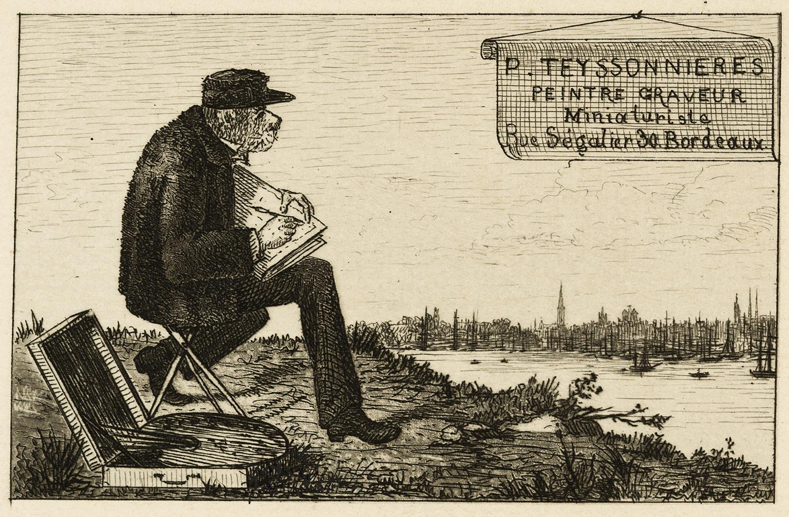 Image Carte De Visite Pierre Teyssonnires 1869 Bordeaux Muse Des Beaux