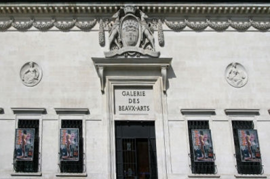 Faàade de la Galerie des Beaux-Arts© Musée des Beaux-Arts-mairie de Bordeaux. Cliché F.Deval