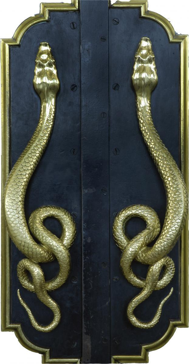 Feronnerie Portes intérieures du musée. © Musée des Beaux-Arts-mairie de Bordeaux. Cliché F.Deval
