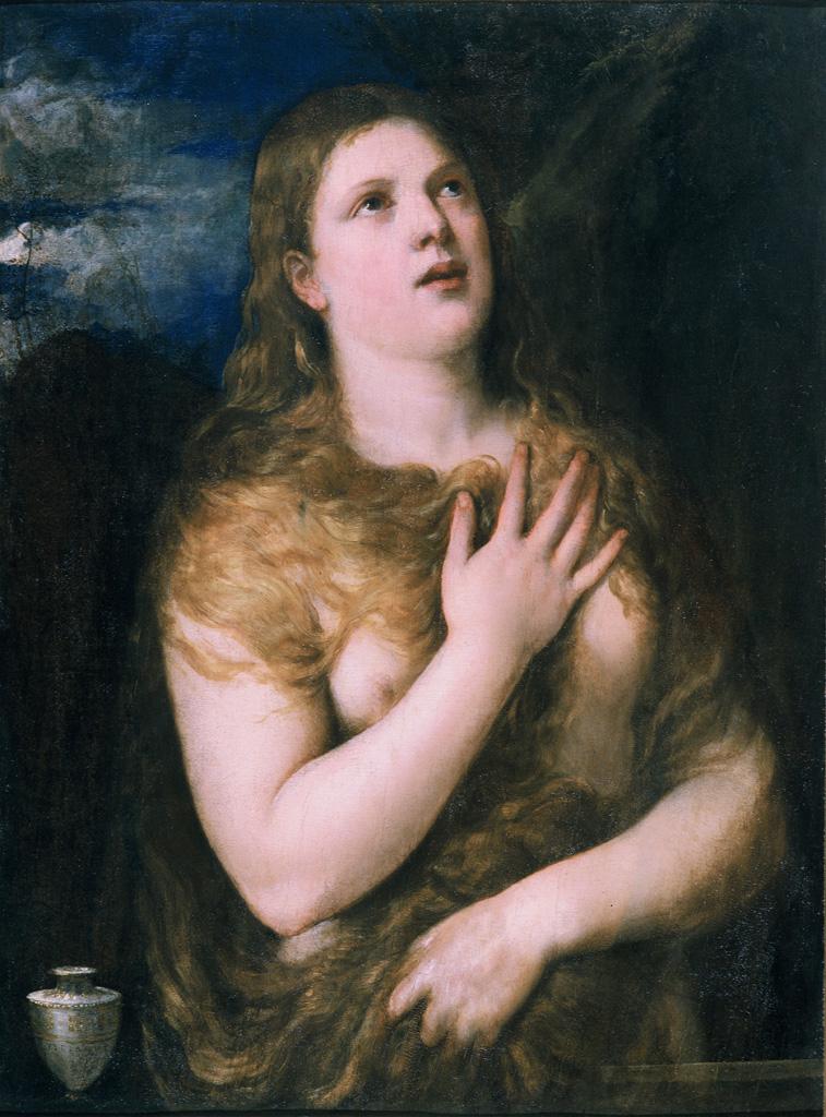 Madeleine pénitente. Le Titien (1488-1576) © Musée des Beaux-Arts-mairie de Bordeaux. Cliché L.Gauthier