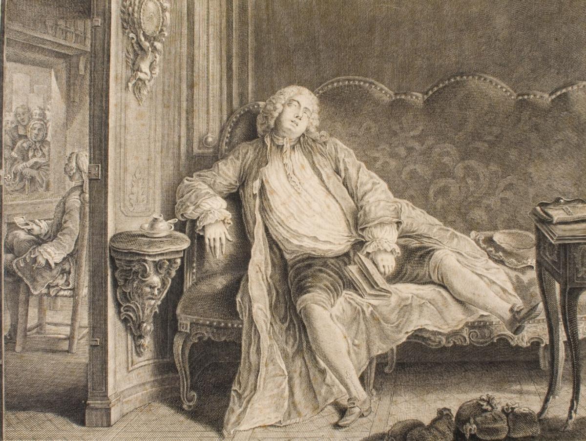 La traitant, par Pierre Louis le jeune Dumesnil