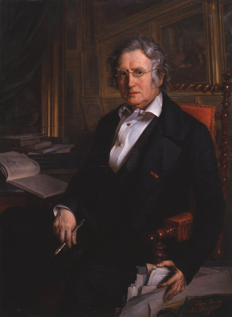 Portrait de Pierre Lacour fils. Jean Pascal Adolphe PAPIN.1846.© Musée des Beaux-Arts-mairie de Bordeaux. Cliché F.Deval