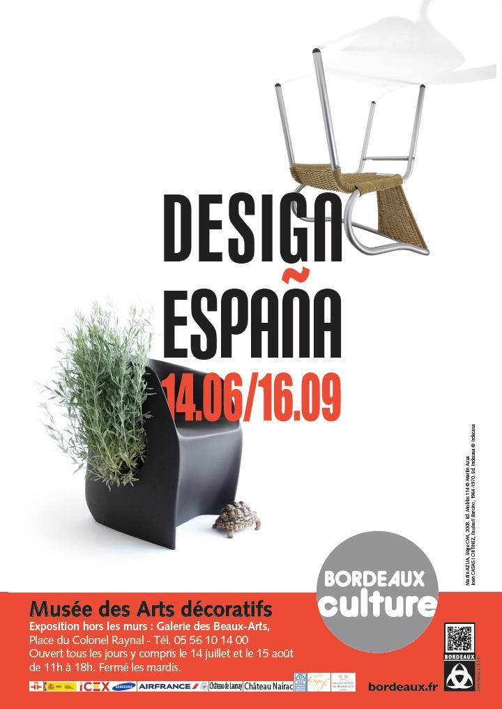 Design espa a mus e des arts d coratifs exposition hors les murs galerie des beaux arts le - Le musee des arts decoratifs ...