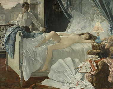 Henri Gervex, Rolla. Dépôt du musée d'Orsay, musée des Beaux-Arts de Bordeaux