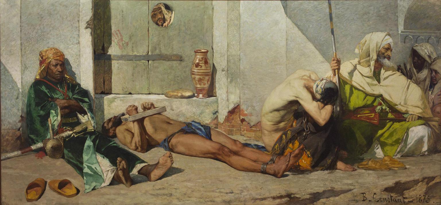 prisonniers marocains jean joseph benjamin constant 1875 c muse des beaux - Coloriste Bordeaux