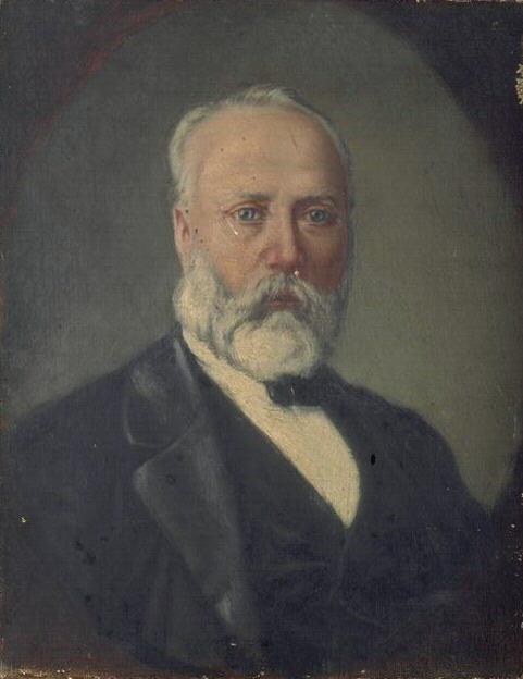 Image de Oscar Gué, Autoportrait © Musée des Beaux-Arts-Mairie de Bordeaux. Cliché L. Gauthier