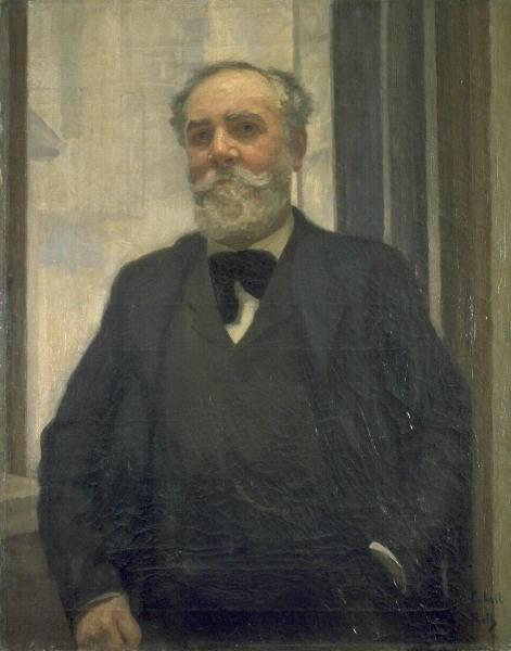 Image du Portrait de Jean Cabrit par Alfred Roll © Musée des Beaux-Arts-Mairie de Bordeaux