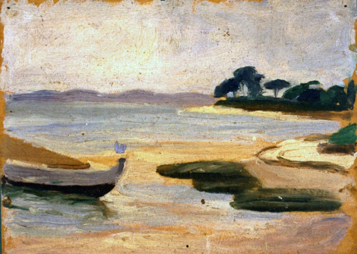 Odette Boyer-Chantoiseau. Bassin d'Arcachon, 1927. Collection particulière