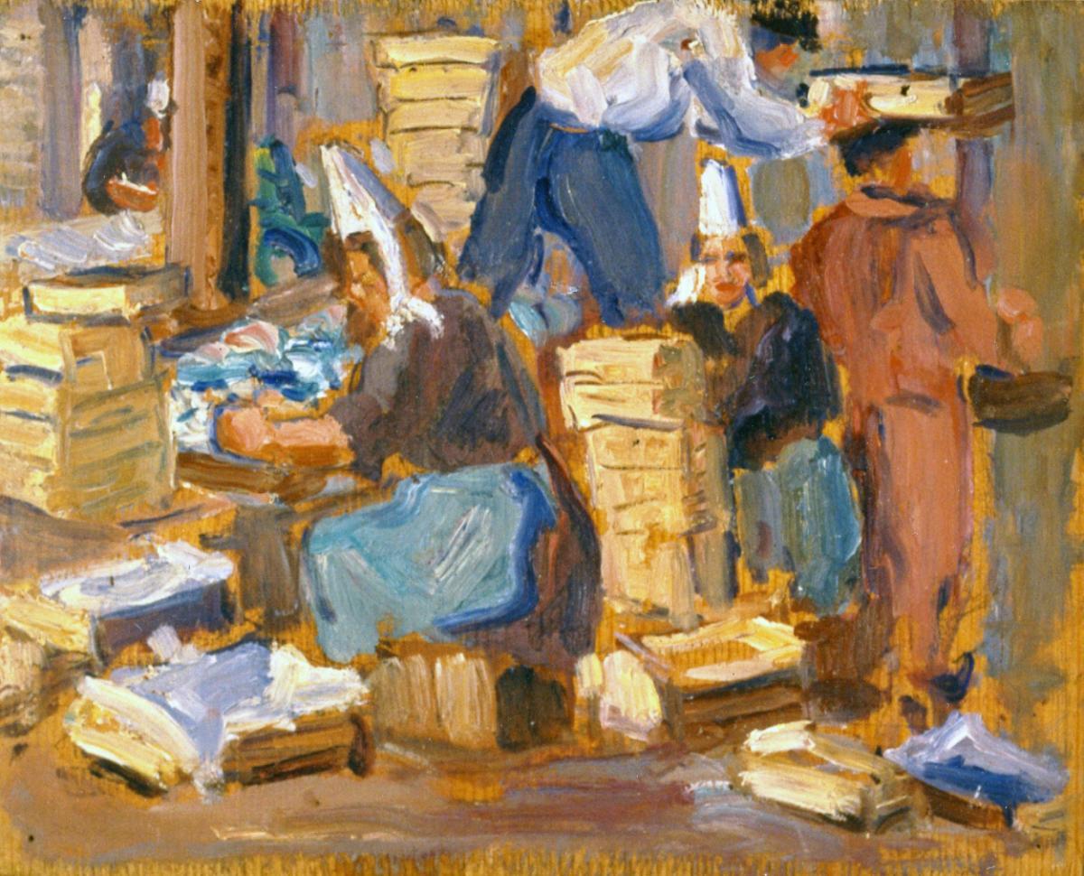 Odette Boyer-Chantoiseau. Bretagne, 1928. Collection particulière