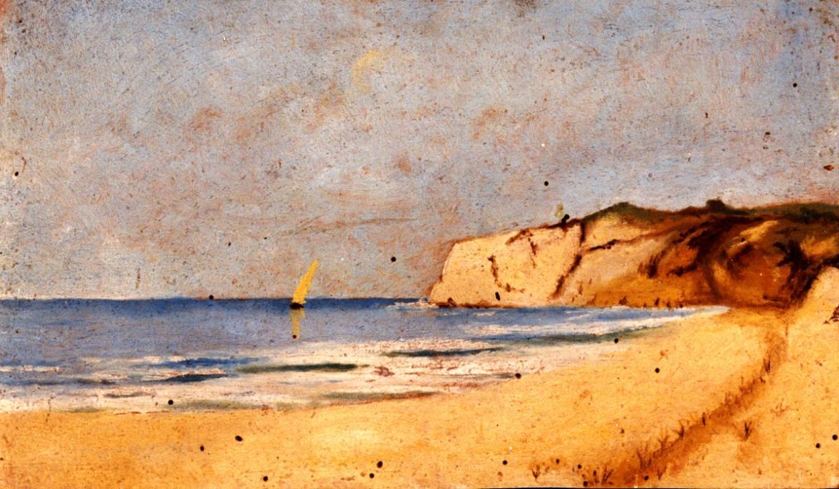 Odette Boyer-Chantoiseau. Paysage, 1931. Collection particulière