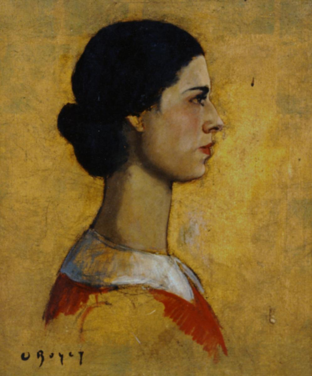 Odette Boyer-Chantoiseau. Autoportrait, 1930. Collection particulière