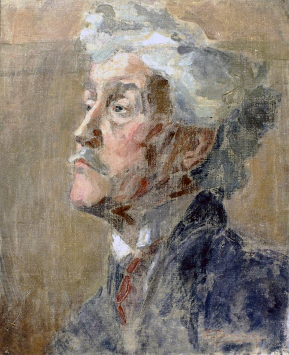 Odette Boyer-Chantoiseau. Etude. Collection particulière