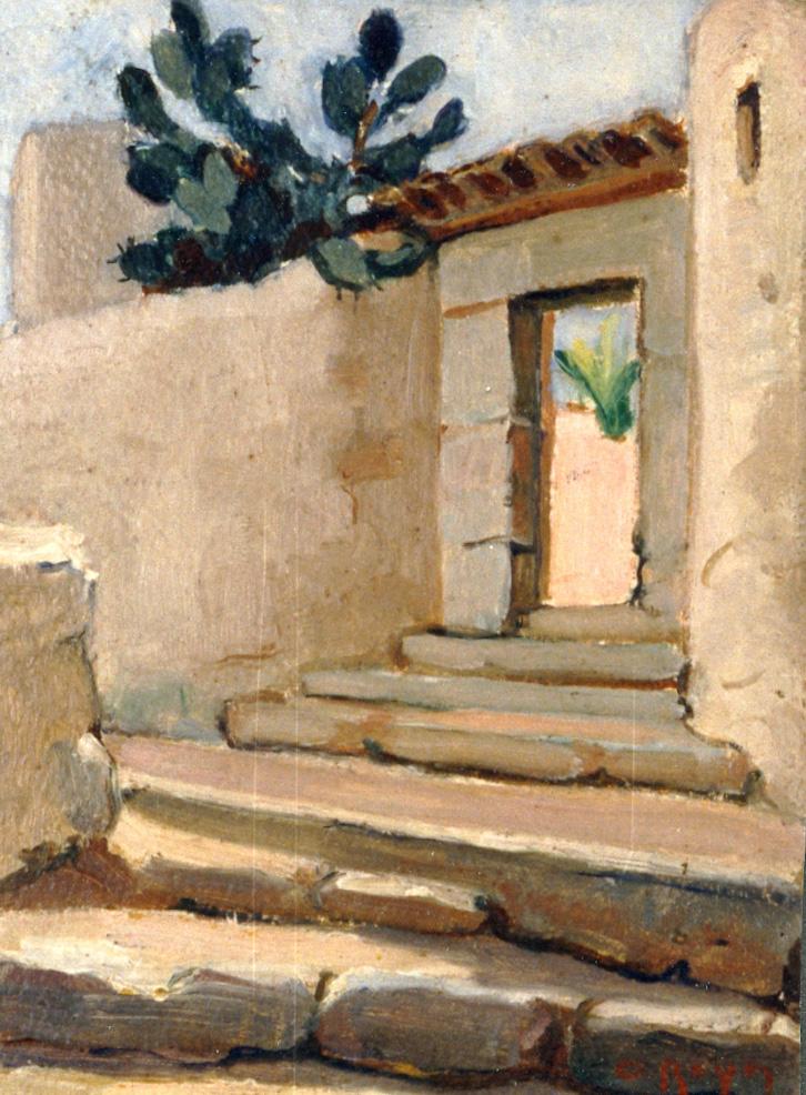 Odette Boyer-Chantoiseau. Paysage, 1930. Collection particulière