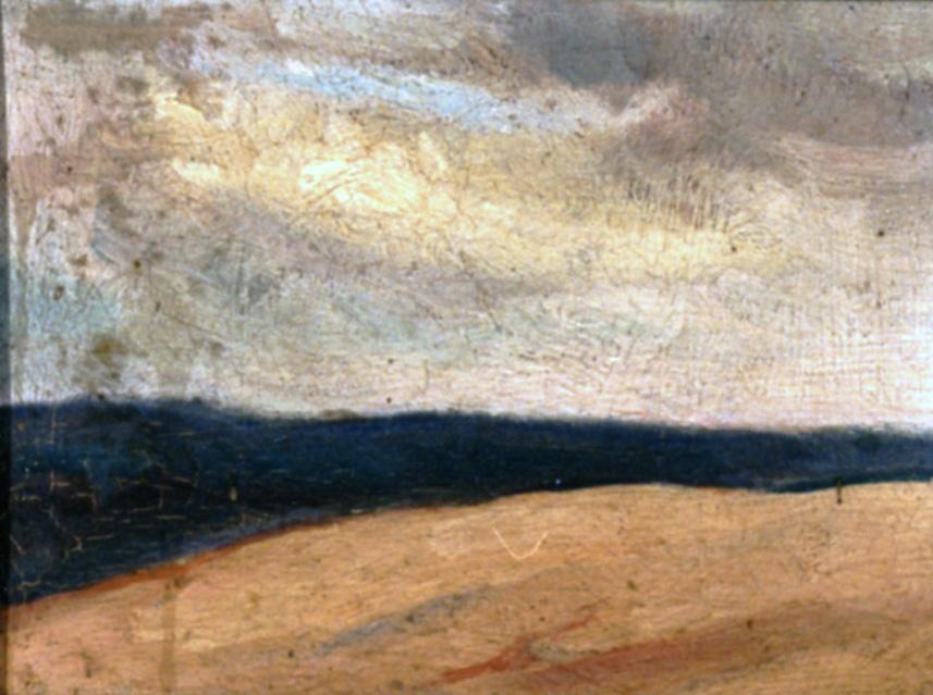 Odette Boyer-Chantoiseau. Vue depuis la dune du Pyla, 1930. Collection particulière