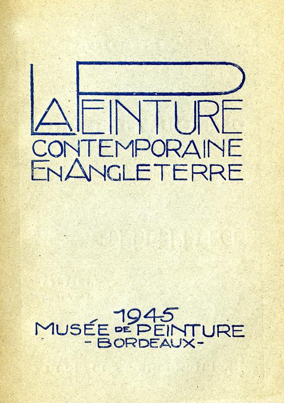 Voir le catalogue de l'exposition (format PDF)© Documentation du Musée des Beaux-Arts. Mairie de Bordeaux