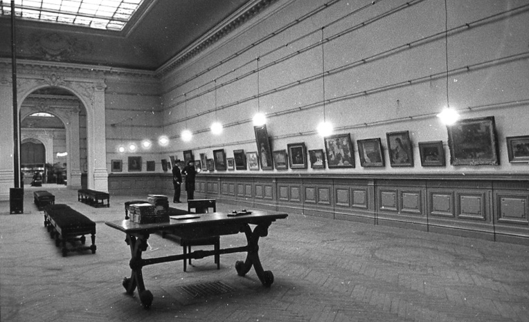 Image de l'exposition © Documentation Musée des Beaux-Arts. Mairie de Bordeaux