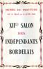Lien vers le catalogue du salon des Artistes Indépendants Bordelais 1946 © Documentation Musée des Beaux-Arts. Mairie de Bordeaux