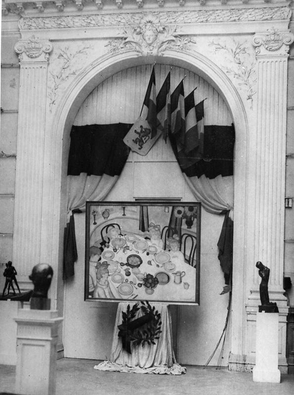Image de l'entrée de l'exposition Les Peintres et graveurs © Documentation Musée des Beaux-Arts. Mairie de Bordeaux