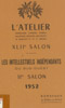 Lien vers le catalogue du salon de L'Atelier, 1952