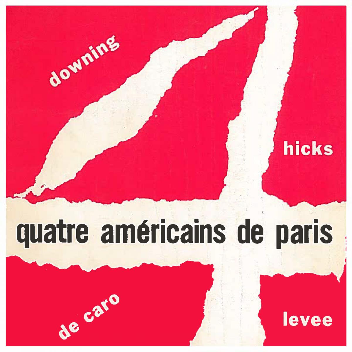 Lien vers le catalogue de l'exposition de 1969, Quatre Américains de Paris