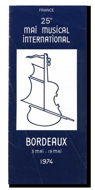 Lien vers le programme du 25e Mai musical de Bordeaux