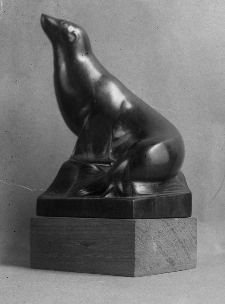 Image : Alexandre Callède - Otarie - 1932. Collection particulière
