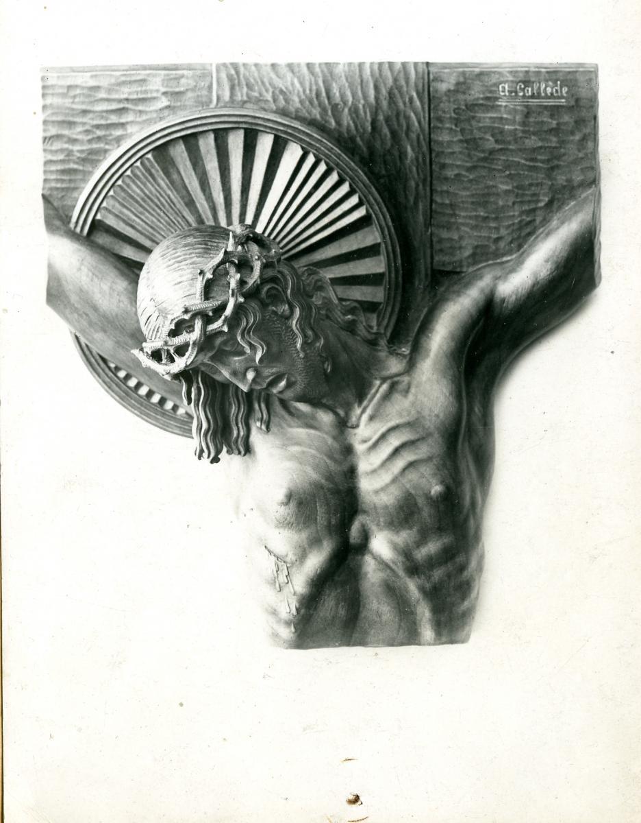Image : Alexandre Callède. Crucifix, 1936. Collection particulière