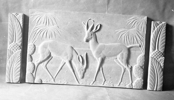 Image : Alexandre Callède Gazelles d'Afrique, 1929. Collection particulière