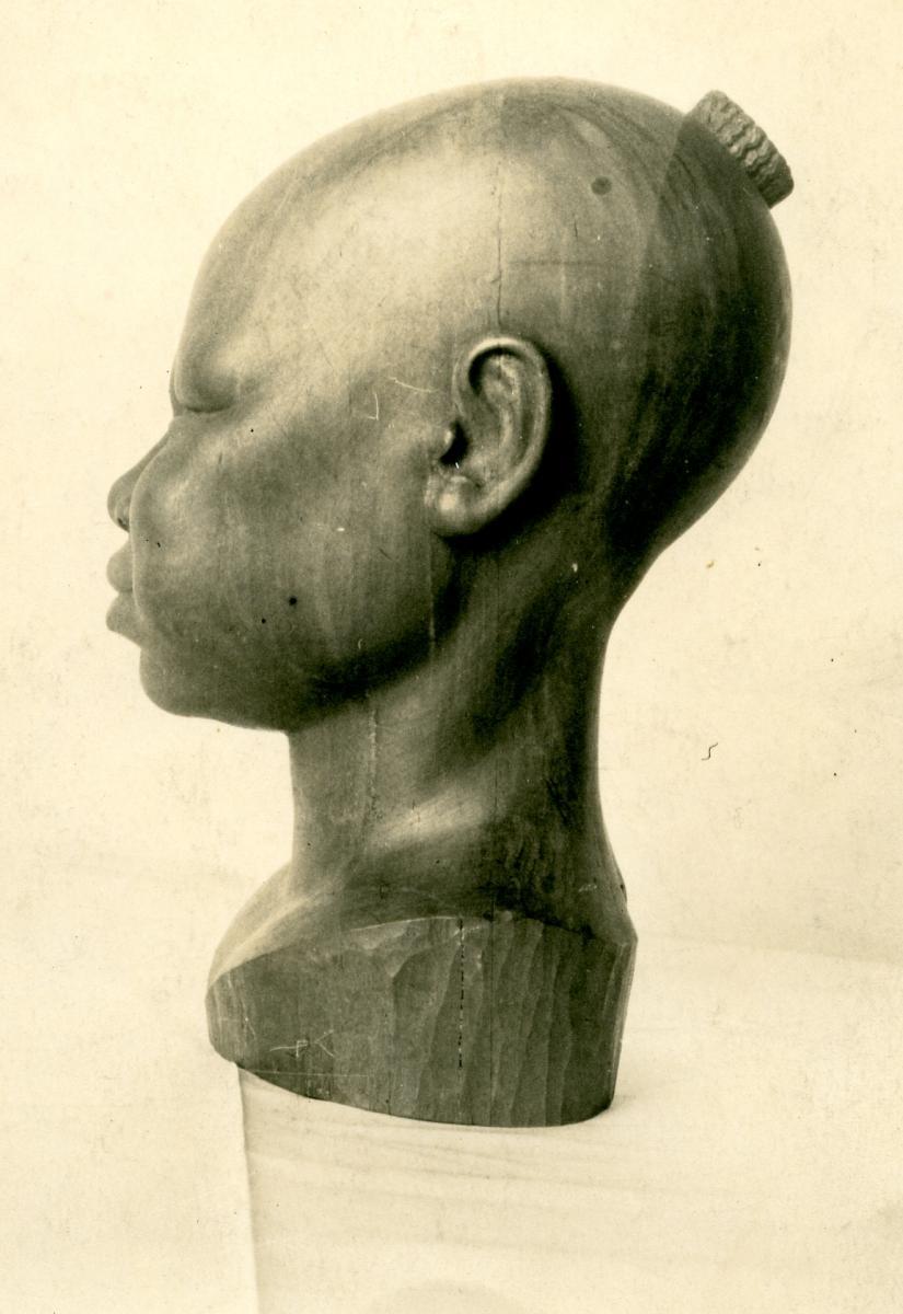 Alexandre Callède. Enfant foulbé, 1942. Collection particulière