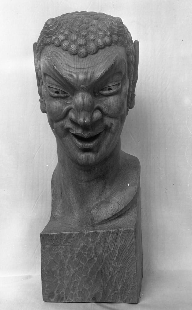Image : Alexandre Callède. Faune, 1943. Collection particulière