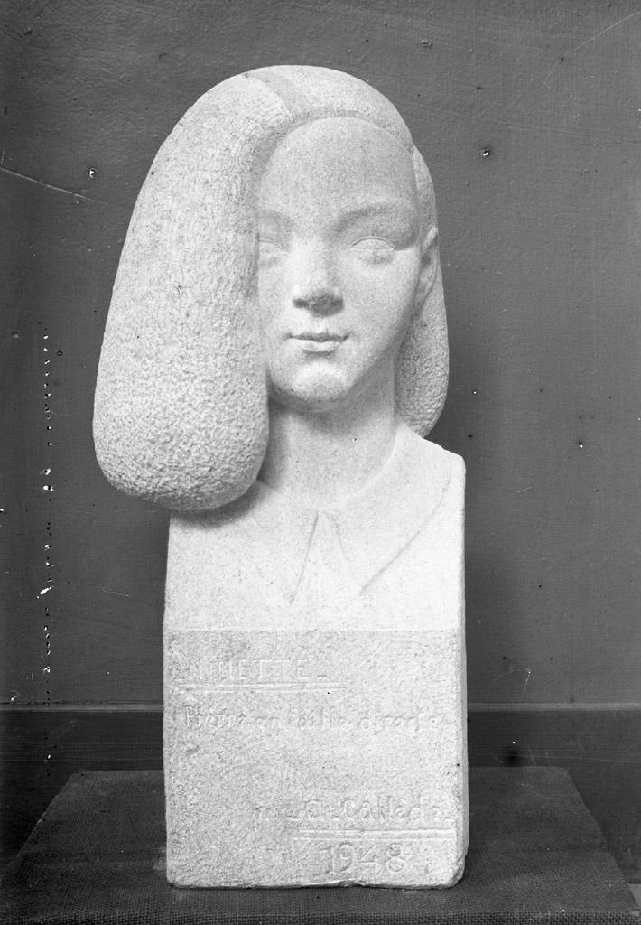Alexandre Callède. Ninette, 1948. Collection particulière
