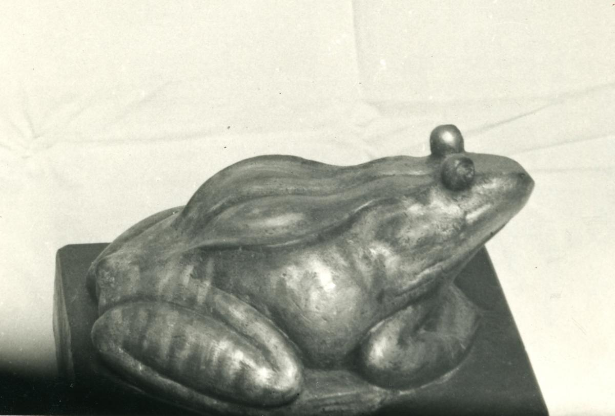 Alexandre Callède - Grenouille verte, 1959. Collection particulière