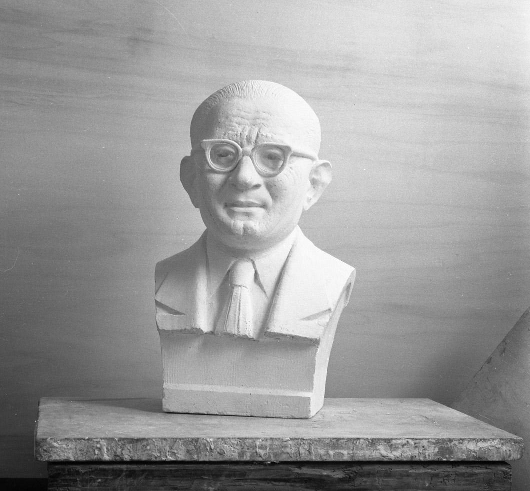 Alexandre Callède. Buste d'Antoine Ferri, 1962. Collection particulière
