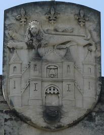 Image : Alexandre Callède, Armoiries de la Ville de Bordeaux, 1964-1965