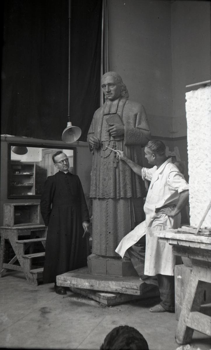 Image : Alexandre Callède, Père Chaminade, 1949-1950. Chapelle Marianiste de la Madeleine, Bordeaux