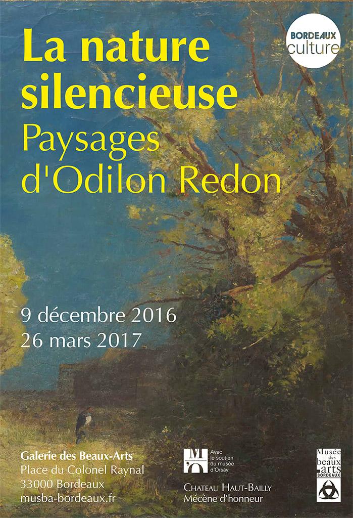 Lien vers la documentation de l'exposition Odilon Redon - Bordeaux, Musée des Beaux-Arts, 2016-2017