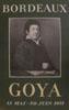 Lien vers la documentation de l'exposition de 1951, Goya