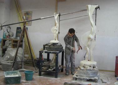Image : Agrandissement ou réduction de sculpture : Le Pantographe