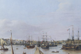 Détail : Bateaux © Musée des Beaux-Arts - Bordeaux