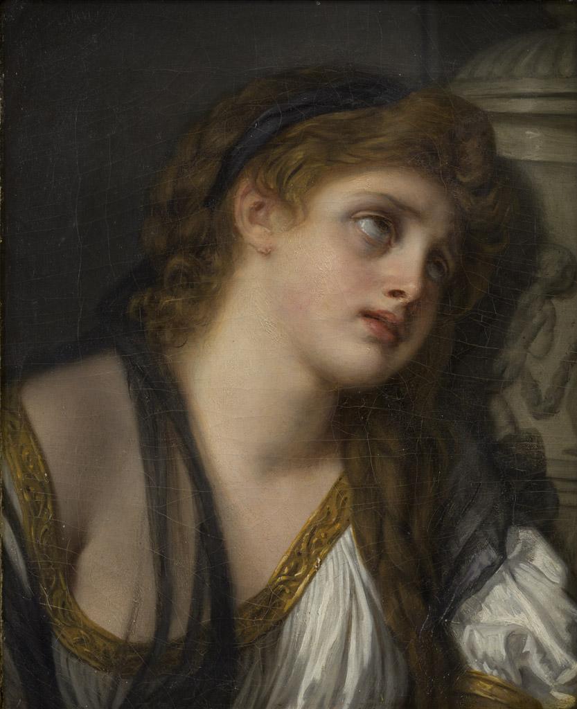 Don au musée des Beaux-Arts de Bordeaux par la Société des Amis du musée, 2014. Jean-Baptiste Greuze (1725-1805), L'Inconsolable