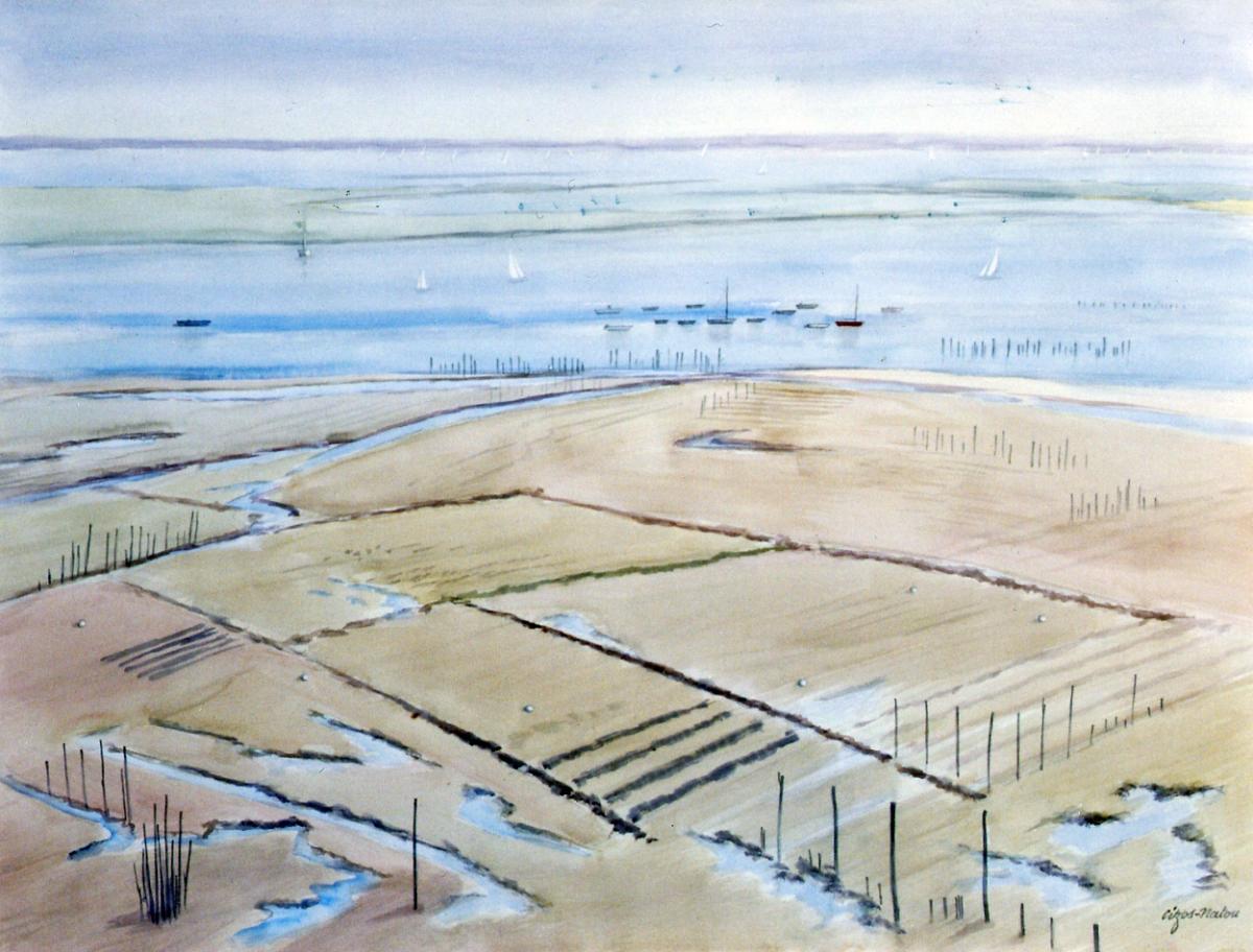 Pierre Cizos-Natou. Piquey, 2007. Collection particulière