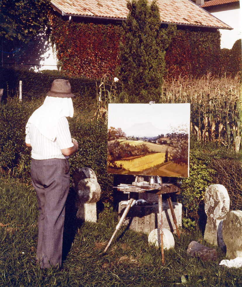 1991, Cizos-Natou à Arcangues (Pays basque)