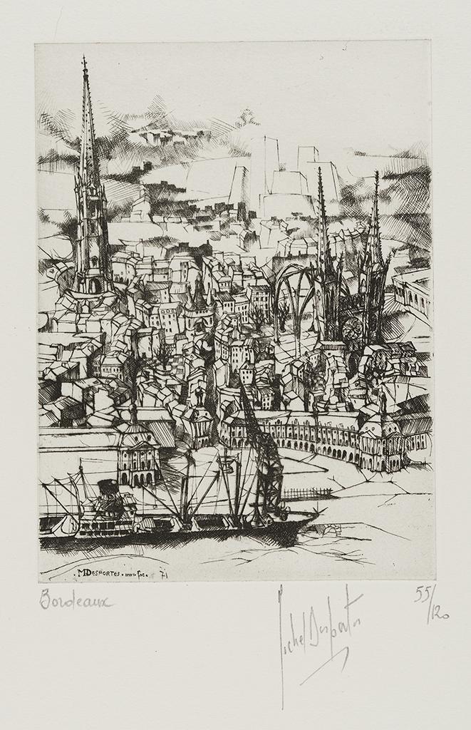 Lien agrandir l'image  : Bordeaux, Michel Desportes. Dépôt Robert Coustet, Bordeaux, musée des Beaux-Arts. Serge Fernandez
