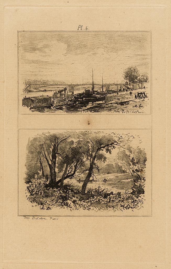 Lien agrandir l'image  : Traité de la gravure, planche 6. Maxime Lalanne. Bordeaux, musée des Beaux-Arts. Serge Fernandez
