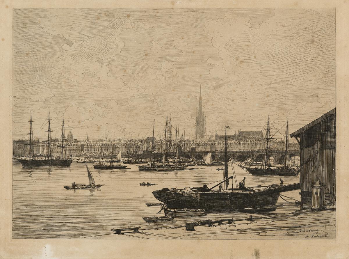 Lien agrandir l'image  : Bordeaux, Maxime Lalanne. Bordeaux, musée des Beaux-Arts. Serge Fernandez