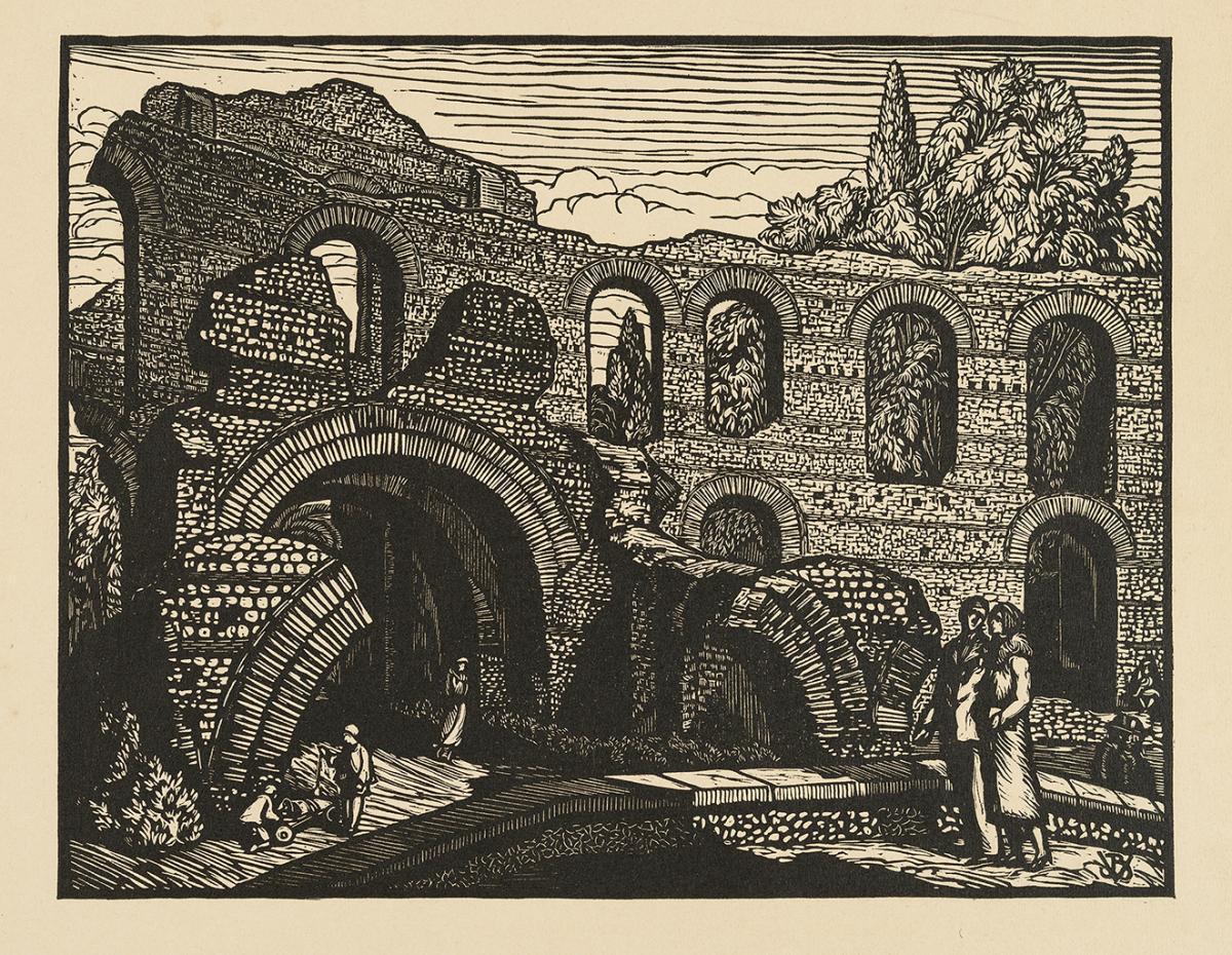Lien agrandir l'image  : Palais Gallien, Jean-Baptiste Vettiner. Bordeaux, musée des Beaux-Arts. Serge Fernandez